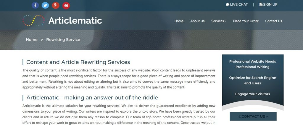 articlematic.com review