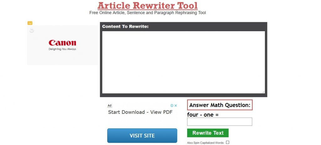 articlerewritertool.com review