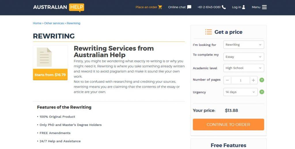australianhelp.com review