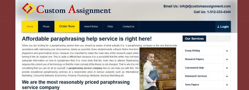 customassignment.com review