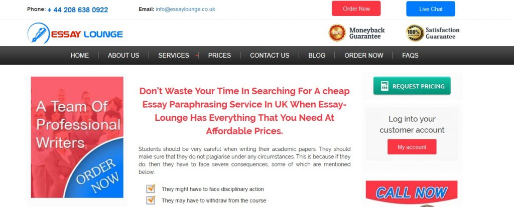 essaylounge.co.uk review