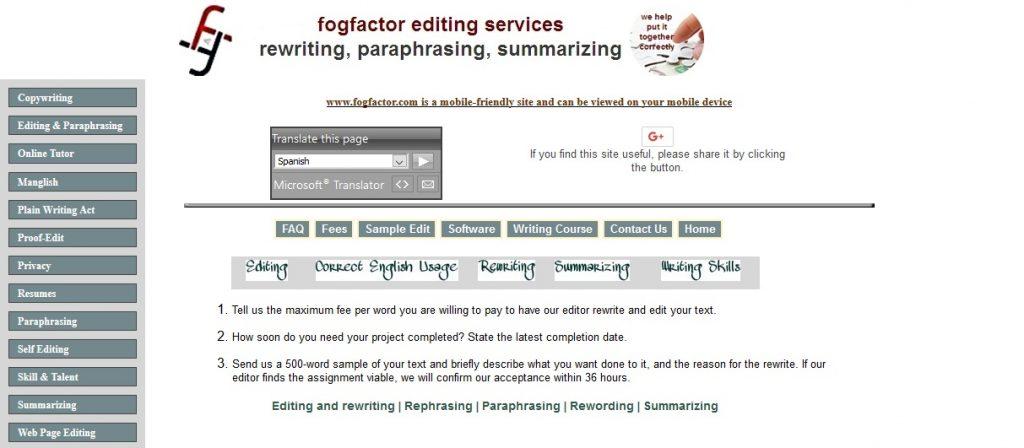 fogfactor.com review