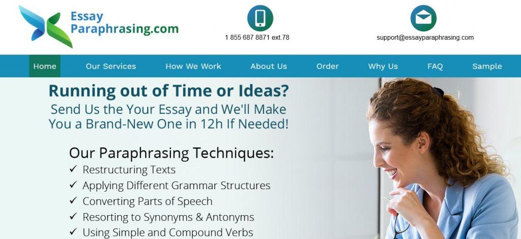 high-level paraphrase website