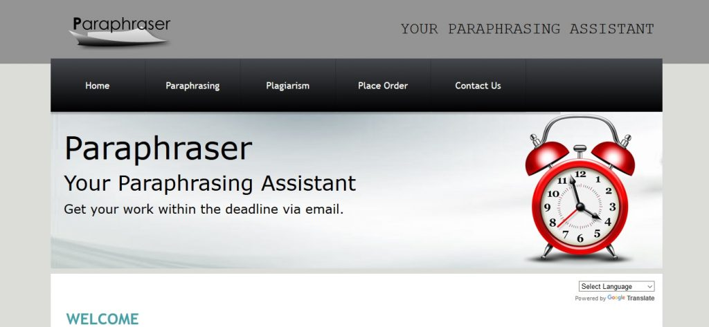 paraphraser.co.uk review