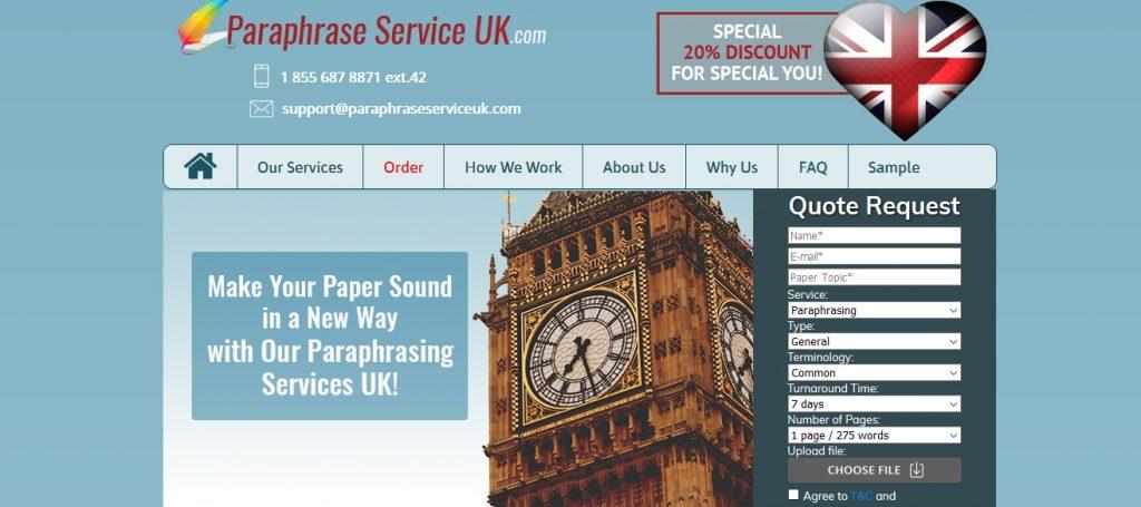 paraphraseserviceuk.com review