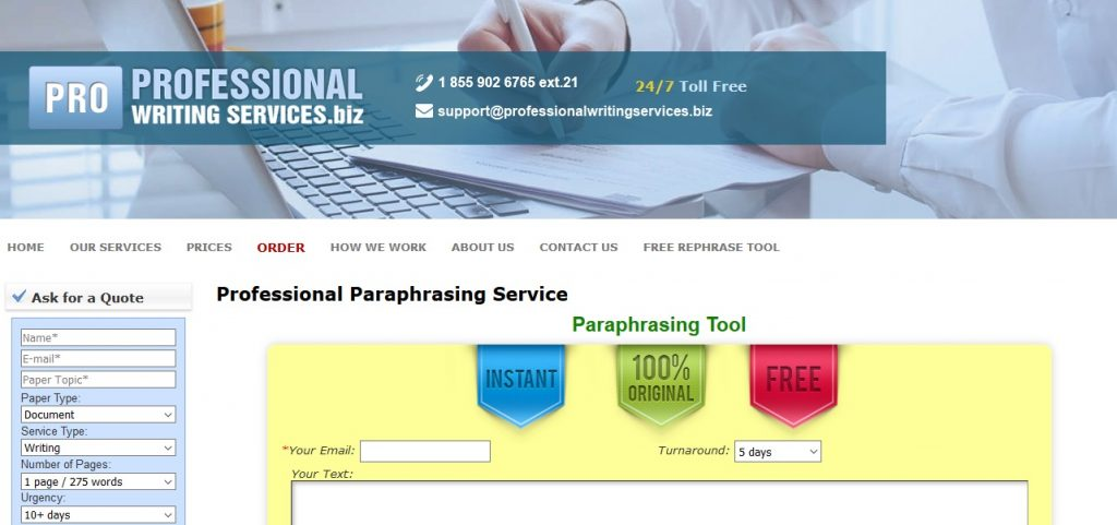 professionalwritingservices.biz review
