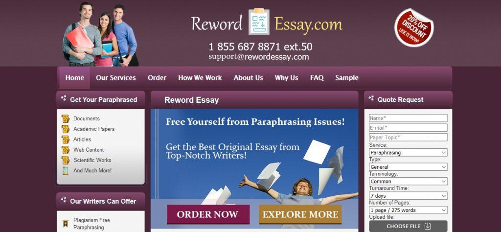 rewordessay.com review