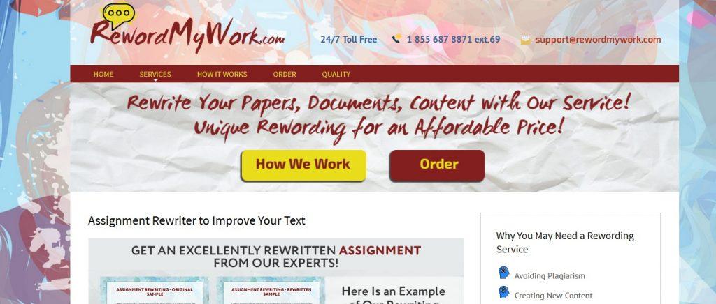 rewordmywork.com review