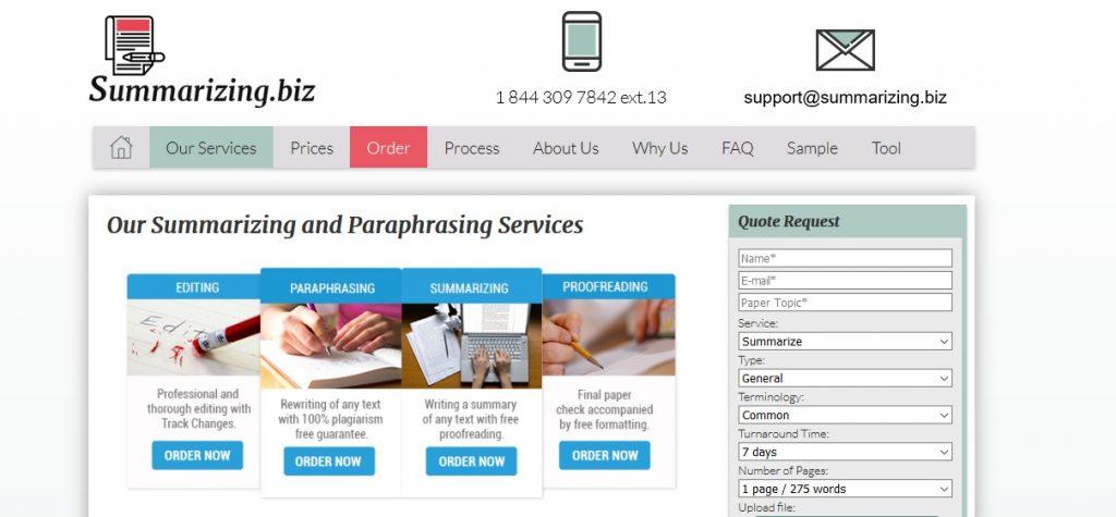 summarizing.biz review